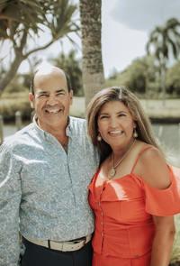 Photo of Cecilia and Pete Biava