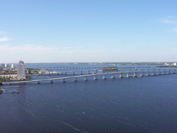 The Beau Rivage, views from balcony