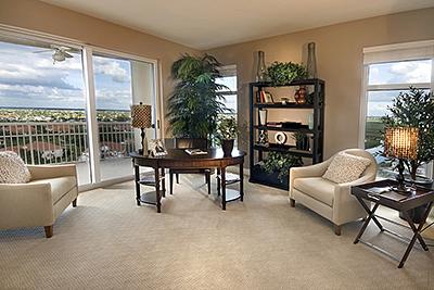 Tarpon Point living room