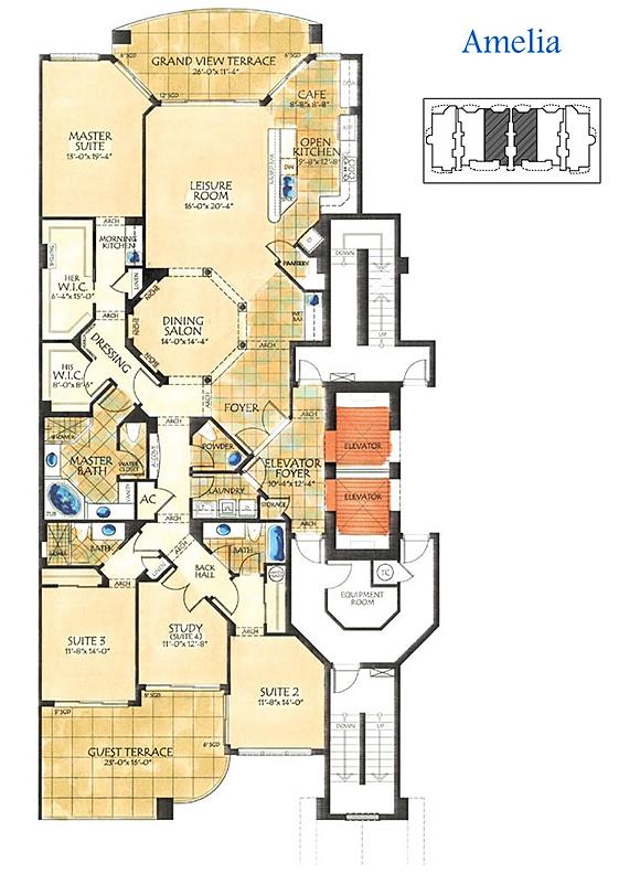tarpon point floor plan
