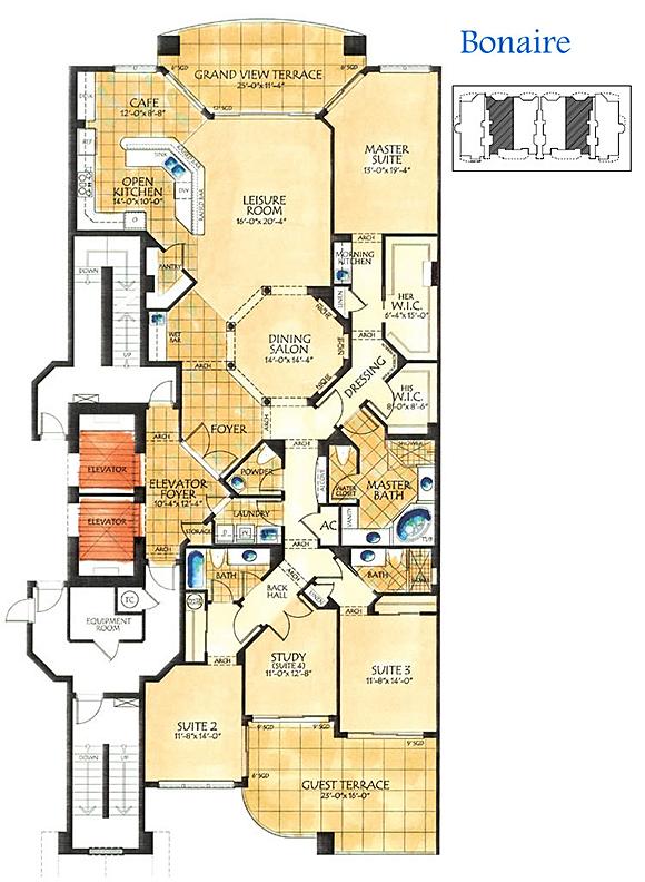 Tarpon point floor plans 2