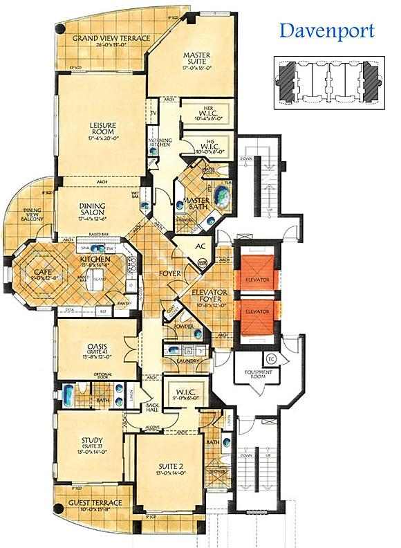 tarpon point floor plan 3