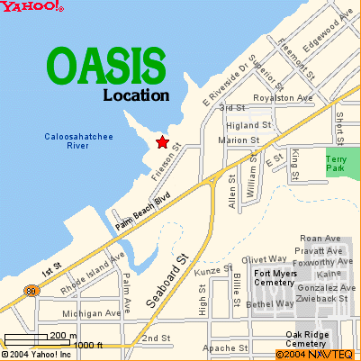 map of Oasis