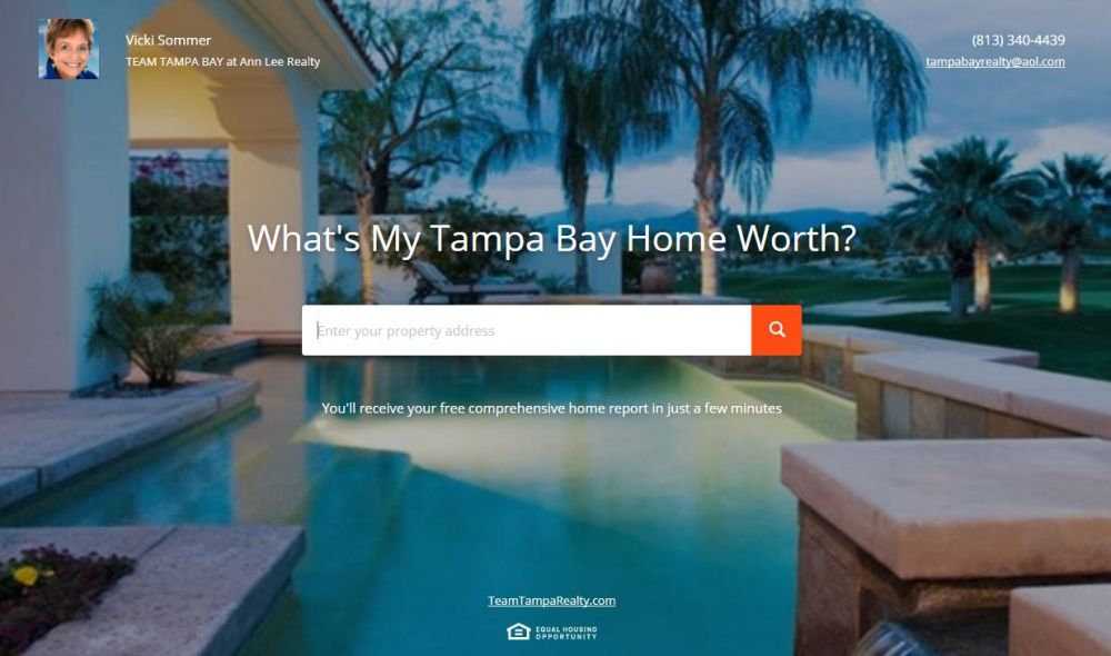 Find the value of any home in Tampa Bay
