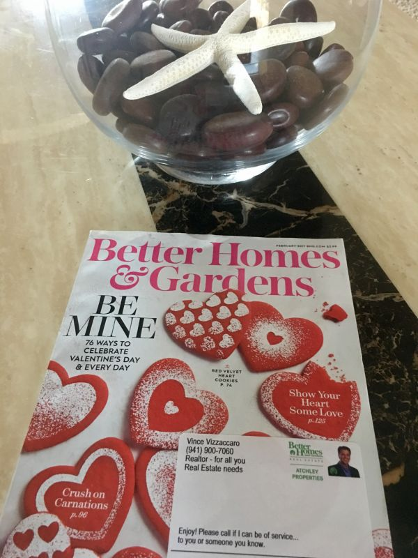 to win a free 1 year subscription to better homes and gardens magazine